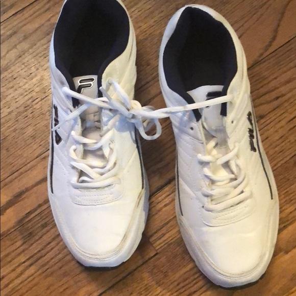 Tennis Fula Mens Poshmark Once Worn Fila Size 1012 Shoes qt1SF